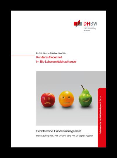 Titelbild Monographie Band 4 Kundenzufriedenheit im Bio-Lebensmitteleinzelhandel