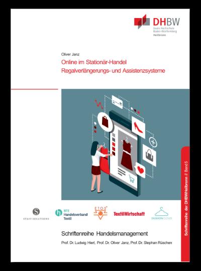 Titelbild Monographie Band 5 Online im Stationär-Handel. Regalverlängerungs- und Assistenzsysteme