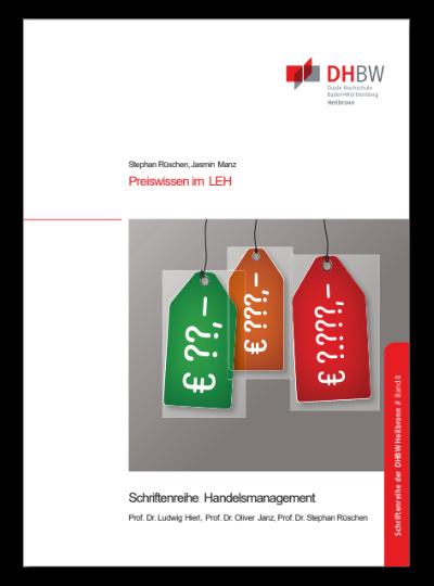 Titelbild Monographie Band 8 Preiswissen im LEH - eine empirische Studie