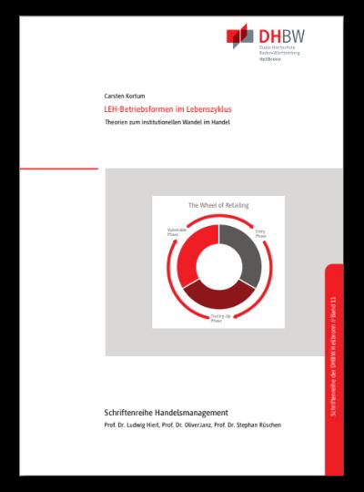Titelbild Monographie Band 11 LEH-Betriebsformen im Lebenszyklus
