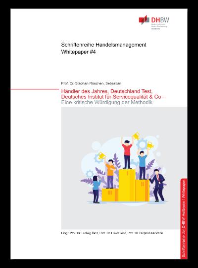 Cover Whitepaper #4 Händler des Jahres, Deutschland Test, Deutsches Institut für Servicequalität & Co. - Eine kritische Würdigung der Methodik