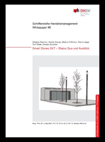 Cover Whitepaper #6 Smart Stores 24/7 - Status quo und Ausblick
