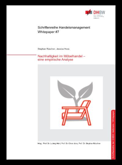 Cover Whitepaper #7 Nachhaltigkeit im Möbelhandel - eine empirische Analyse