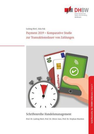 Titelbild Monographie Band 9 Payment 2019 - Komparative Studie zur Transaktionsdauer von Zahlungen